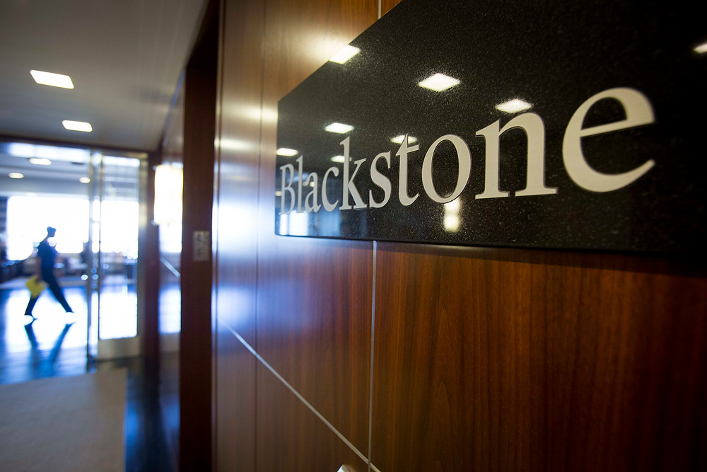 Private equity company Blackstone is one of the top donors to President Trump's campaign (Photo Credit: CNBC)