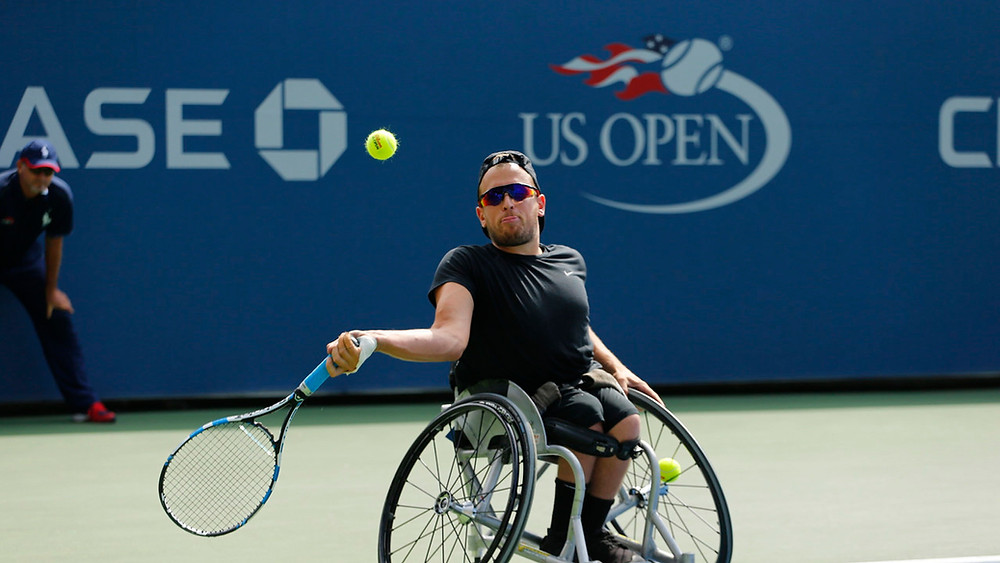 Number one ranked quad singles player in the world, Dylan Alcott (Photo Credit: US Open)