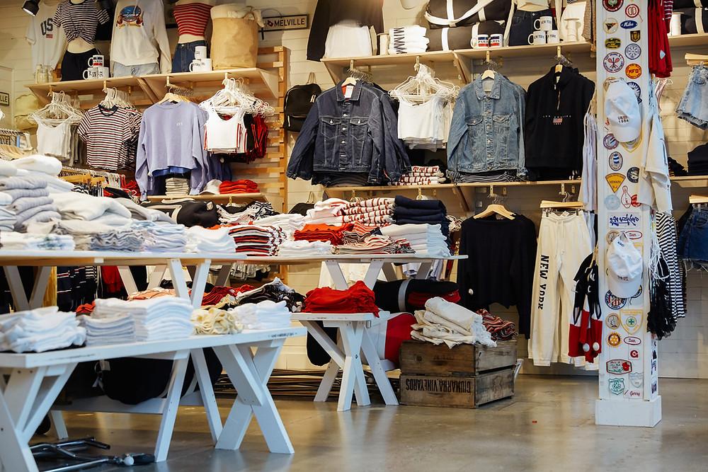 A Brandy Melville store (Photo Credit: University Village)