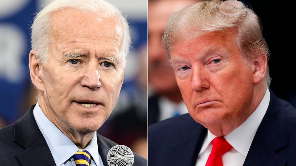Presidential candidates Joe Biden and Donald Trump (Photo Credit: CNN)