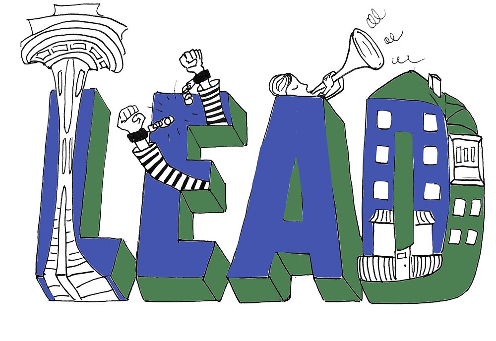 An illustration of LEAD (Photo Credit: The College Hill Independent - Alana Baer)