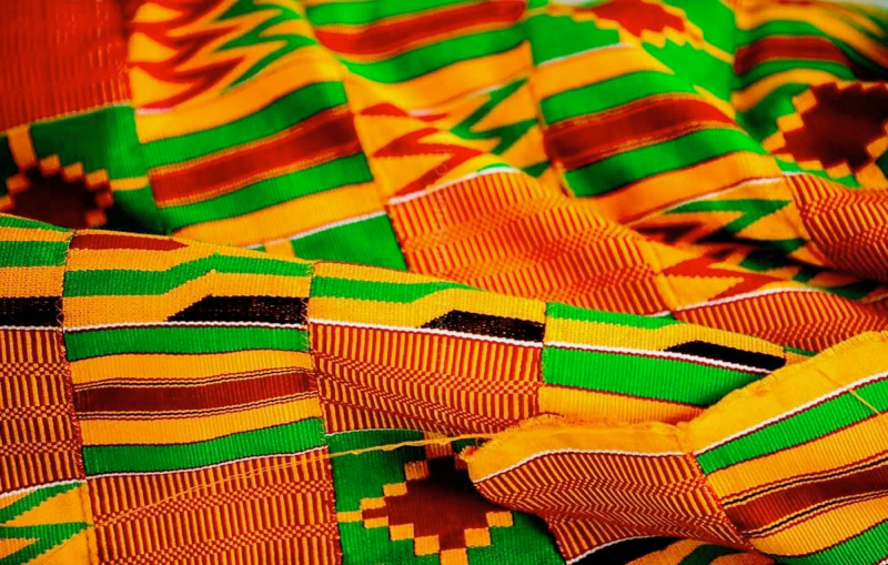 Kente Cloth (Photo Credit: Modern Ghana)