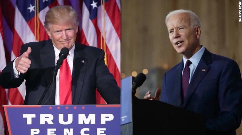President Trump and Former Vice President Biden (Photo Credit: CNN)