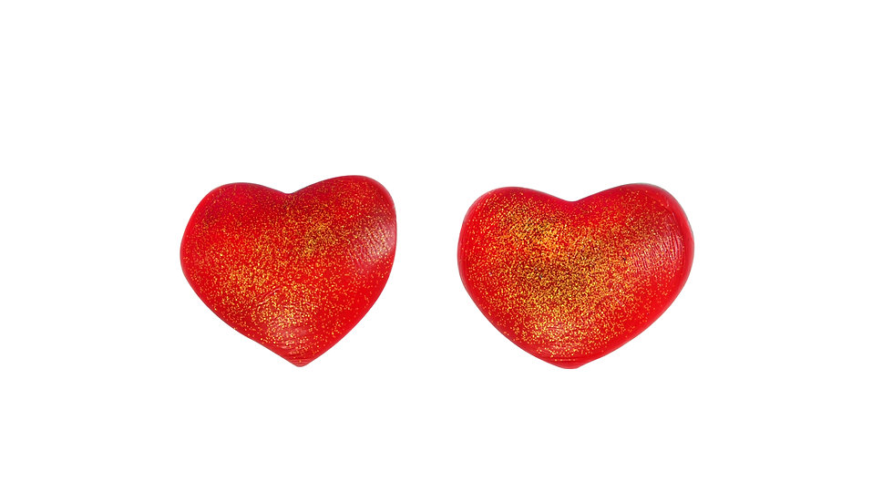 Red Heart Silicone Nipple Covers
