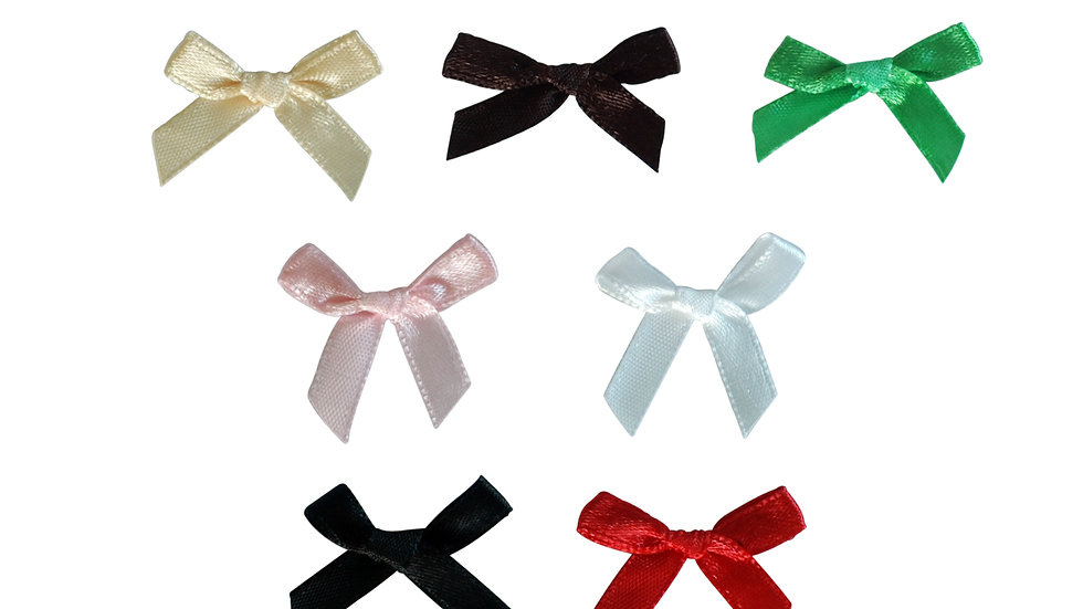 Satin Bra and Panty Bows - Assorted Colors