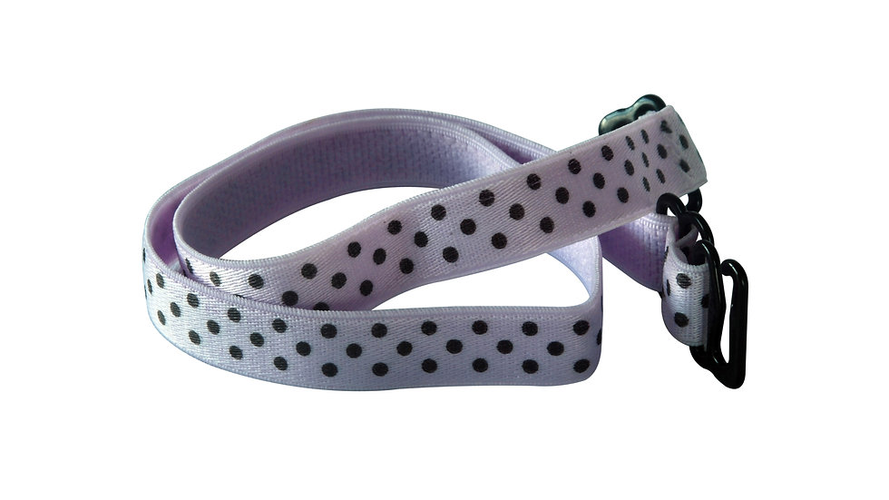 Purple Strap With Black Dots
