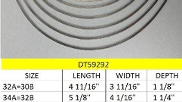 Plunge Shape Underwires 36D - 44A