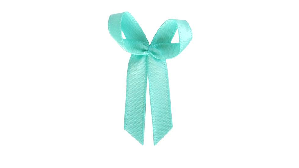 Fancy Green Satin Bow