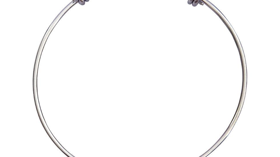 Wire Bangle Bracelet