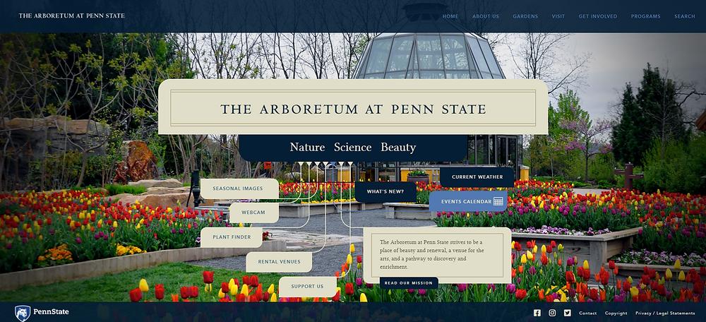 arboretum, nature, calm, beauty, website