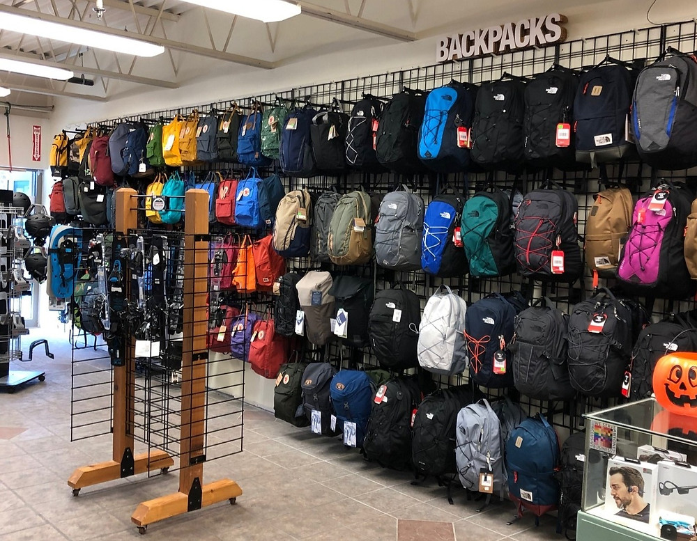 local, store, outdoor, shop, State College, Appalachian Outdoors, backpacks