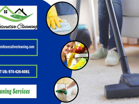 Need deep cleaning? Call Summit Executive Cleaning– Summit County's most trusted cleaning service.
