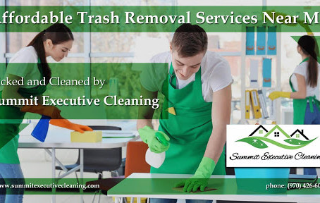 Let Summit Executive Cleaning handle all of your trash removals. On-demand / Concierge