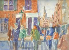 Watercolor Painting Amsterdam