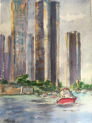 Watercolor Painting Chicago