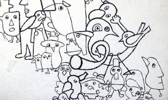 La Roue, 1995, détail