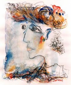 La femme chapeau,1983