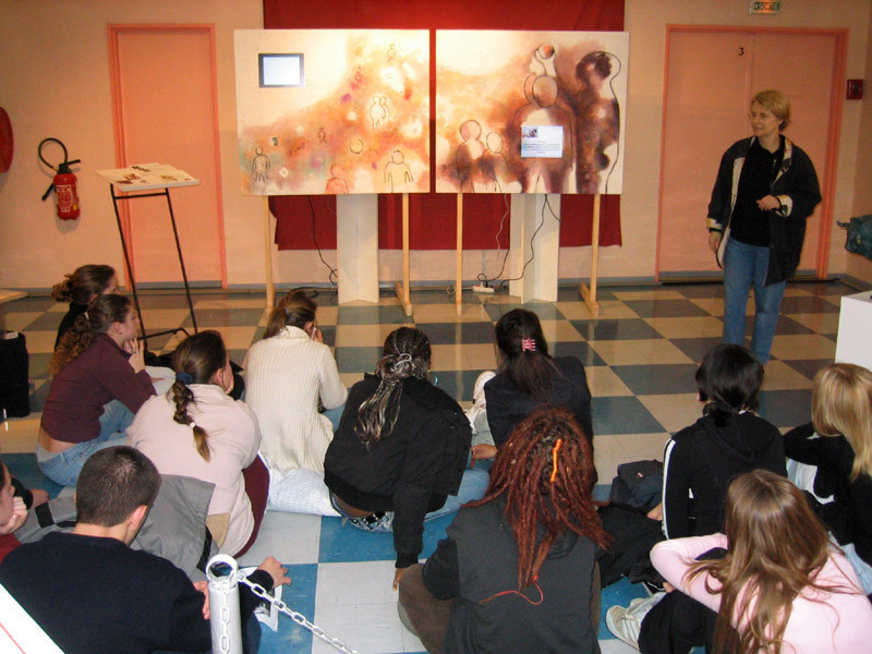 2004, exposition au centre culturel du forum, Saint Gratien