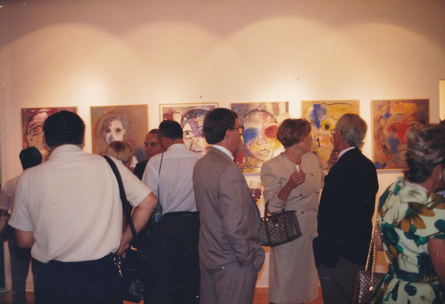 1993, expo à New-York