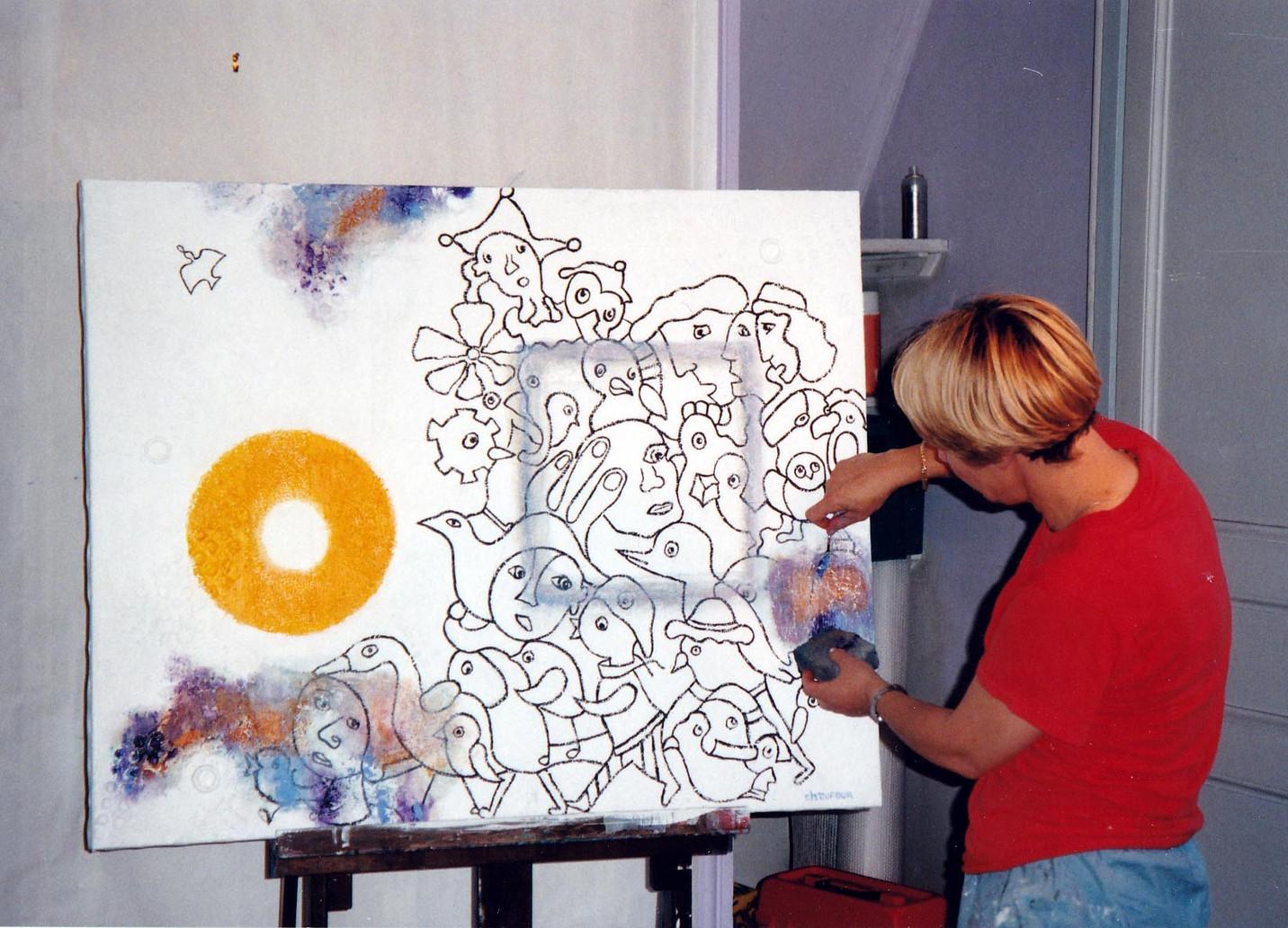 1995, retouche sur Passage