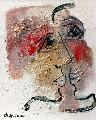 Chantal Dufour, Le Baiser, 1992
