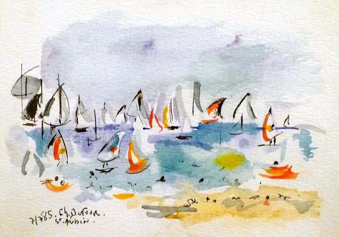 Saint-Aubin,1985