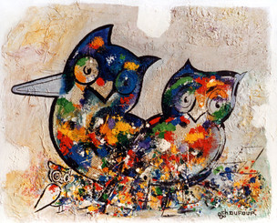 """""""La palette d'Athéna"""", 1986"""