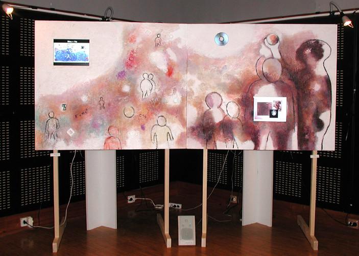 Homo Sapiens, installation de Chantal Dufour