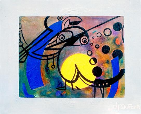 Ecran lunaire, 1986