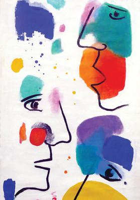 """""""L'un, l'autre"""" (détail), 2007"""