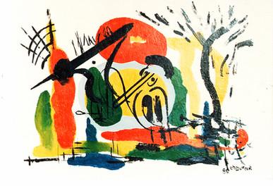 """""""Les intrus"""", 1983"""