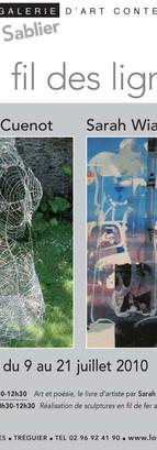 2010, expo de Corinne Cuenot et Sarah Wi