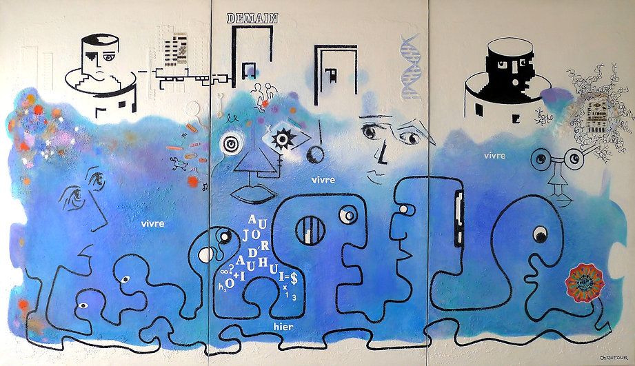 "Chantal Dufour, ""Mutations 1996"""