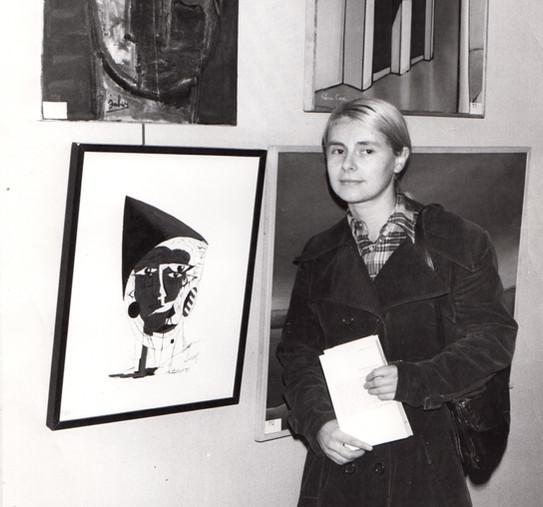 1978, Paris, Salon d'Hiver