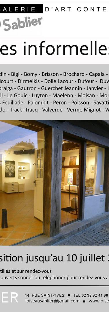 """Expo """"Les informelles"""""""