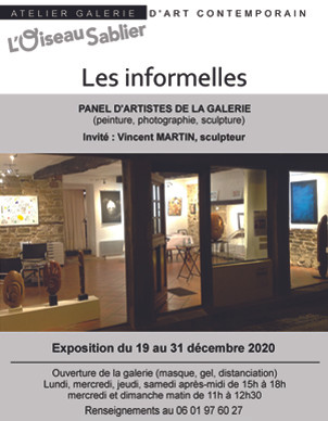 "Expo ""Les Informelles"", Noël 2020"