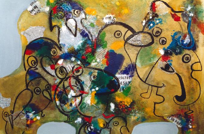 1992, Oiseaux aux chapeaux
