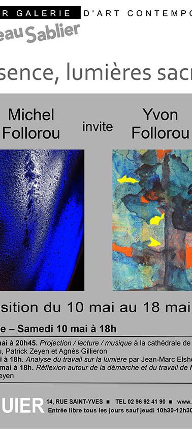 Expo de Michel Follorou et Yvon Follorou