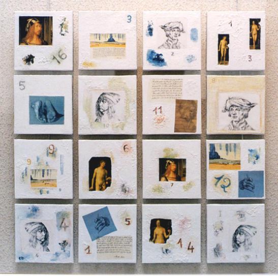 Hommage à Dürer, 1997 (carré magique)