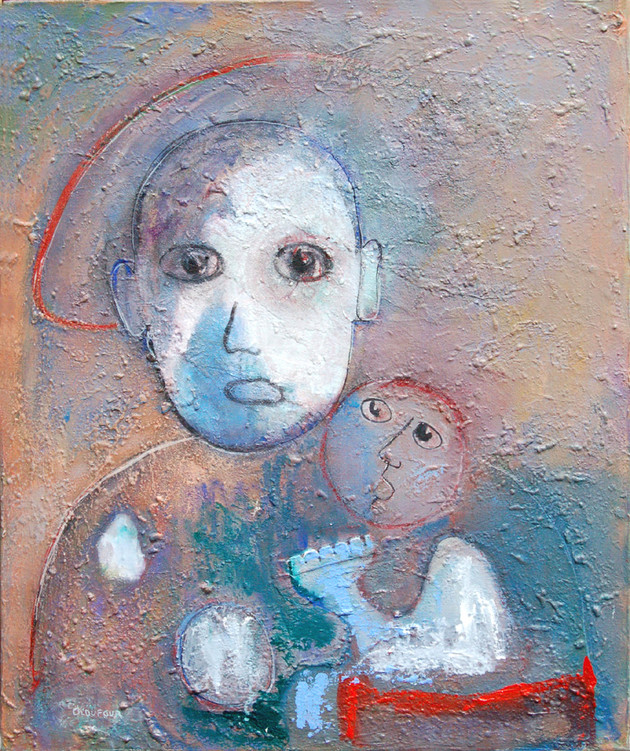 """""""Les deux âges"""", 1992"""