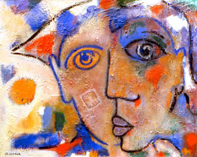 """Arlequins"", 2000"
