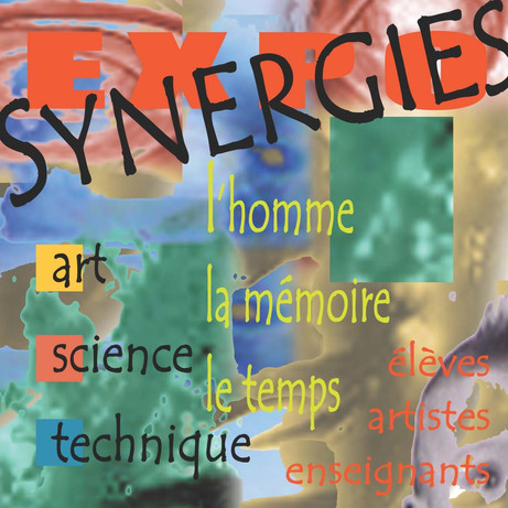 "Expositions ""Synergies"", couverture du catalogue"