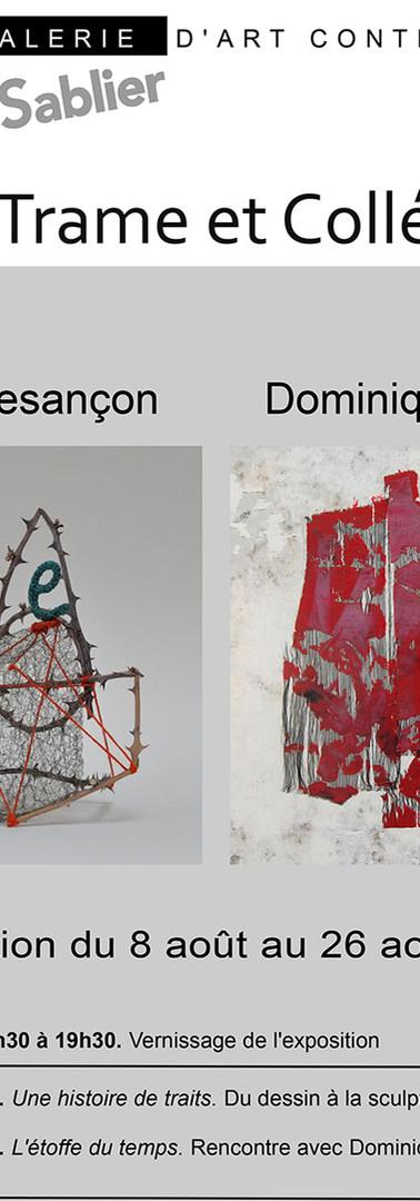 Expo de Dominique Potard et Sibylle Besançon