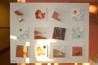 Le Sablier, oeuvre interactive (2002-2003) de Jean-Marie Brochard et Chantal Dufour, avec la participation d'une section technique du lycée Monod (95)