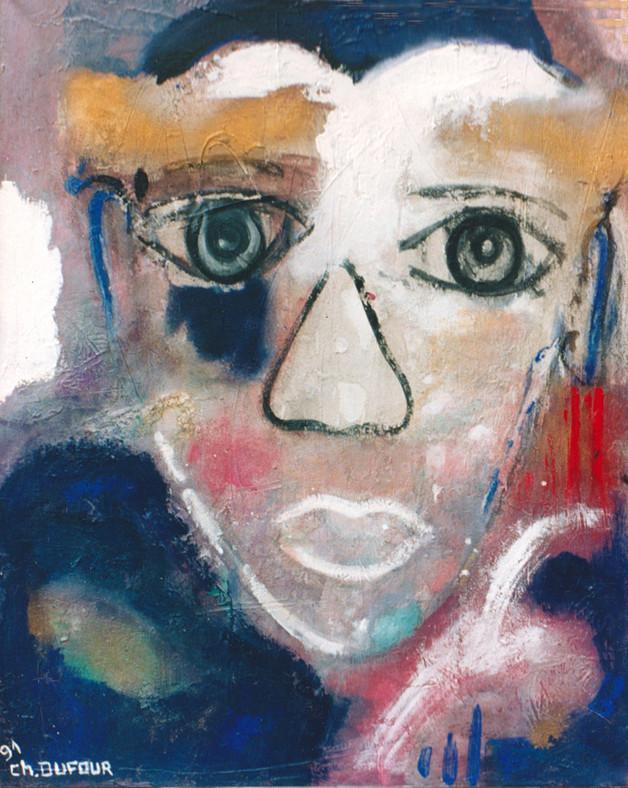 """""""Le comédien"""", 1991"""