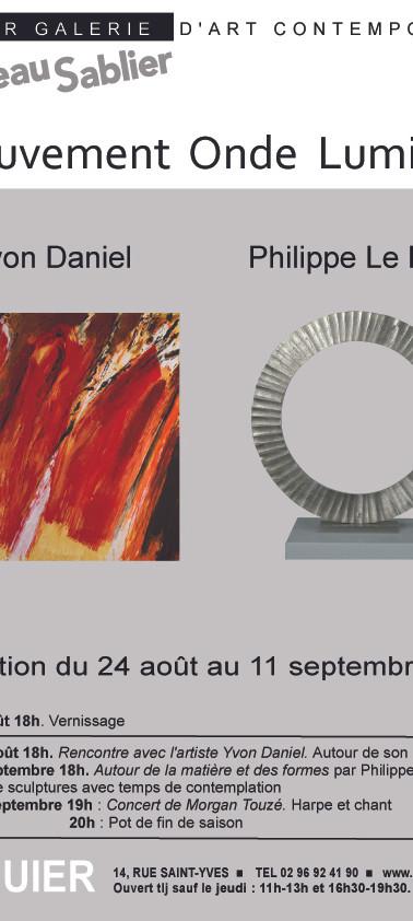 Expo de Yvon Daniel et Philippe Le Ray