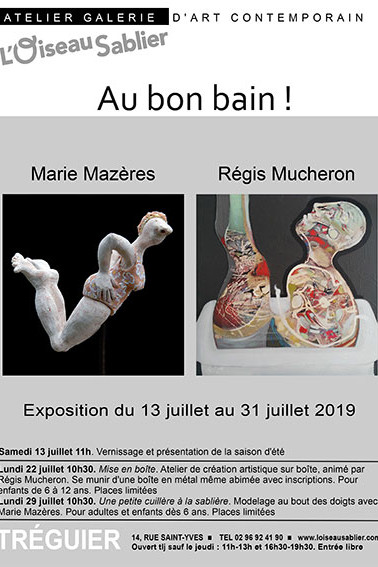 Expo de Régis Mucheron et Marie Mazeres.