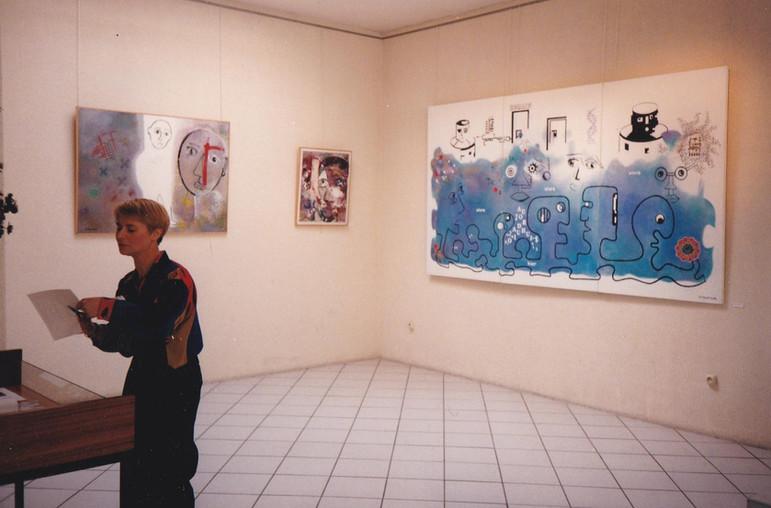1997, expo Dualité à Saint Gratien