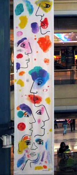 """""""Générations"""", 2011, 5mx1m"""