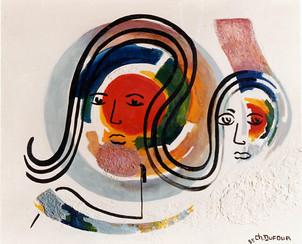 """""""Méandres bibliques"""", 1985"""